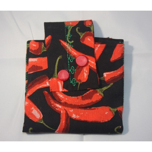 Tea Wallet - Hot Peppers