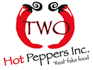 Two Hot Peppers Fake Food