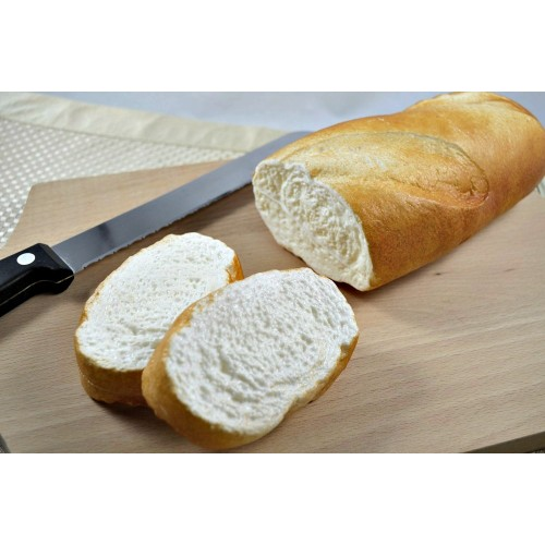Baguette Half with Two Slices