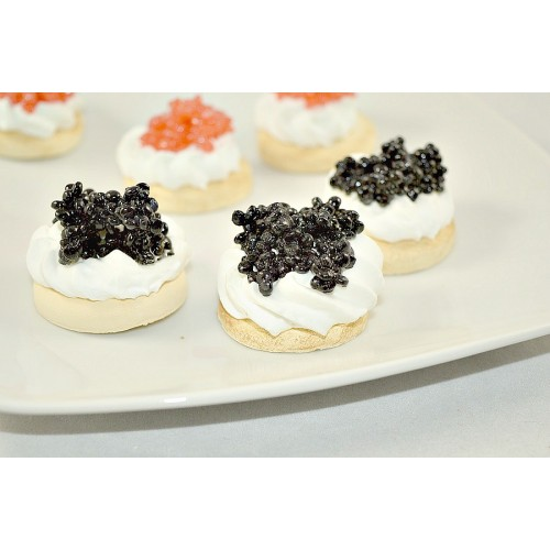Hors d'Oeuvres - Black Caviar (set of 3)