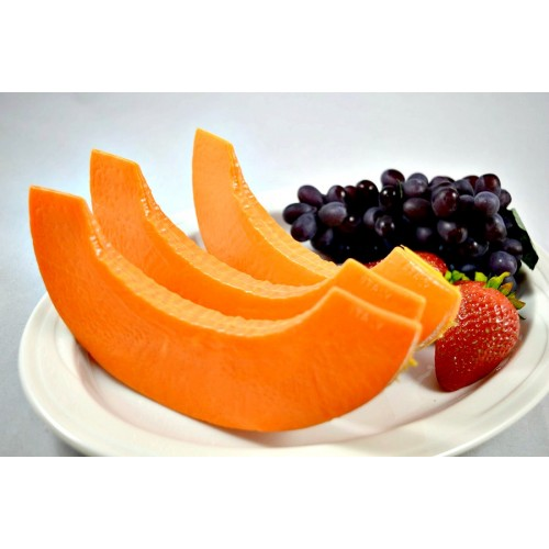 Cantaloupe Slice (set of 3)