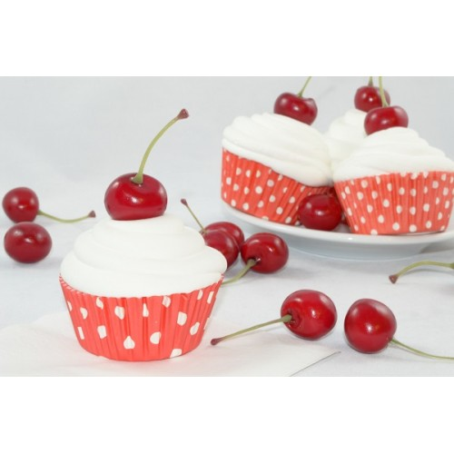 Cherry Cupcakes (set of 3)