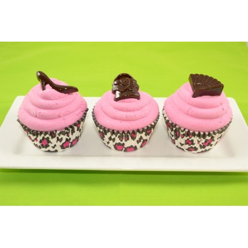 Fashion Cupcakes (set of 3)