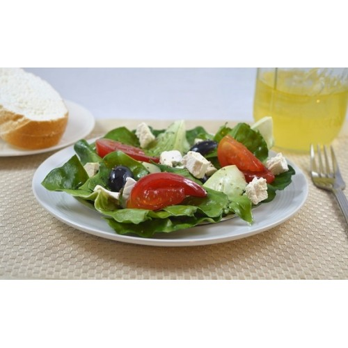 Greek Salad on Disc