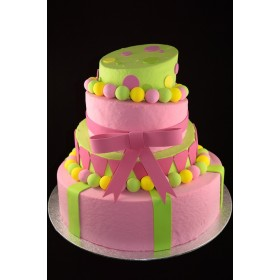 Mad Hatter Cake (4 Tiers)