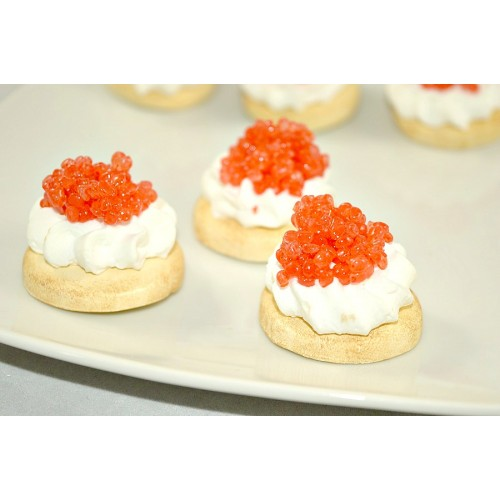 Hors d'Oeuvres - Red Caviar (set of 3)