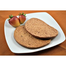 Bread Slice Rye (set of 2)
