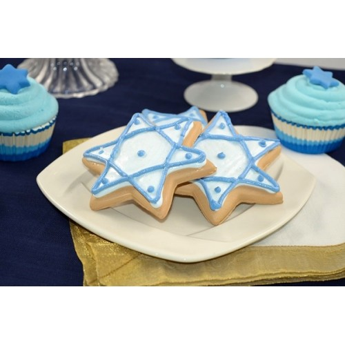 Cookie Star of David (Set OF 3)