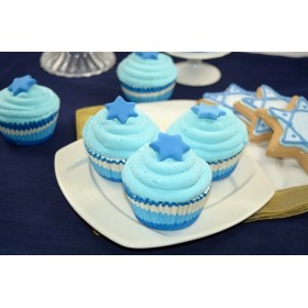 Cupcakes Blue (s/3)