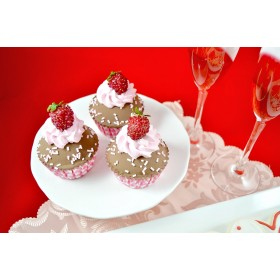Cupcakes - Valentine's (set of 3)